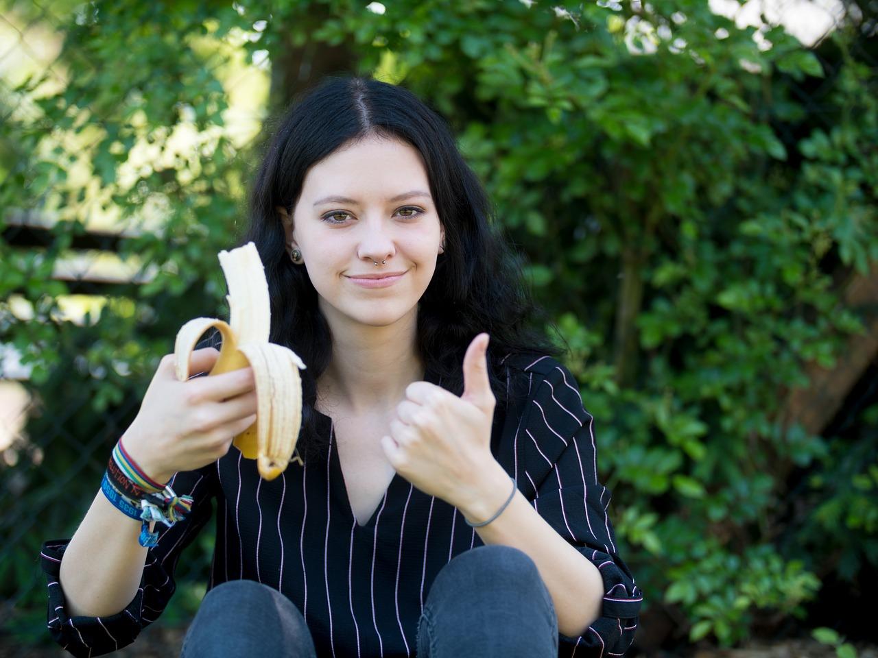 banán konzumace