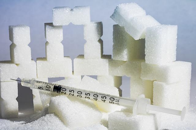 inzulinová stříkačka